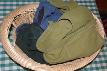 Fleece in Laundry