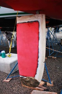 Rudder-reddy-to-repair